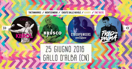 rainbaw color festival 25 giugno gallo grinzane